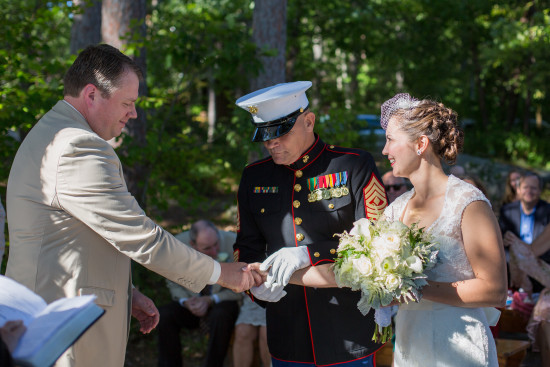 Camp Wedding…with a Personal Touch