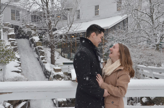 Surprise Winter Engagement