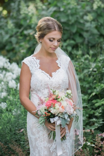 Late Summer Garden Wedding